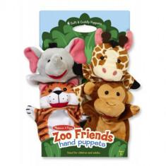 Set 4 Papusi de Mana Zoo - Jocuri arta si creatie