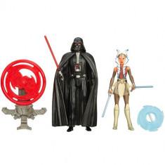 Star Wars - Figurine Darth Vader si Ahsoka Tano - Figurina Povesti Hasbro