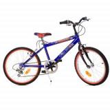 Bicicleta Spiderman 420U-S, 20 inch - Bicicleta copii Dino Bikes