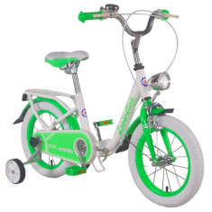 Bicicleta Pliabila Lambrettina Green 14 - Bicicleta copii
