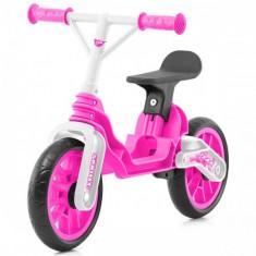 Bicicleta fara Pedale Trax Pink - Bicicleta copii Chipolino