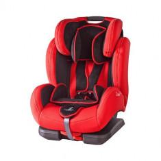 Scaun Auto DiabloFix Isofix 9-36 kg Red - Scaun auto copii Caretero, 1-2-3 (9-36 kg)