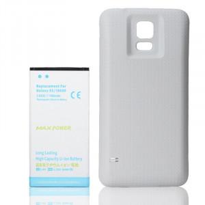 Baterie extinsa 7000 mah + capac alb dedicat Samsung Galaxy S5 G900 i9600