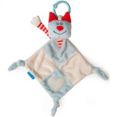 Paturica Pis Pis Rosu - Jucarie pentru patut Taf Toys