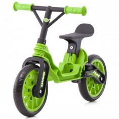 Bicicleta fara Pedale Trax Green - Bicicleta copii Chipolino