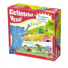Elefantul Vesel - O Plimbare in Natura - Jocuri arta si creatie D-Toys
