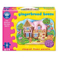 Puzzle orchard toys de Podea Casuta de Turta Dulce 35 piese