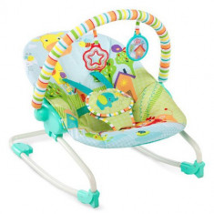 Sezlong 2 in 1 Snuggle Jungle - Balansoar interior Bright Starts