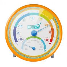 Termo Higrometru U201TH Portocaliu - Termometru copii