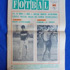 REVISTA FOTBAL * NR. 387 / 24 OCTOMBRIE 1973 ( DINAMO BUC. - ATLETICO MADRID )