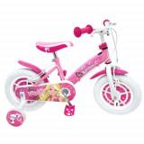 Bicicleta Barbie, 14 inch - Bicicleta copii Stamp