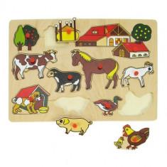 Puzzle Bigjigs - Ferma Bunicii