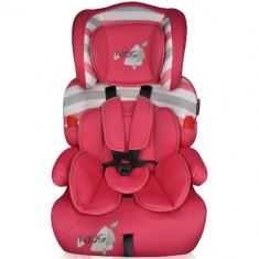 Scaun Auto Kiddy 9-36 kg 2016 Pink Kids - Scaun auto copii grupa 1-2-3 (9-36 kg) Kiddy, 1-2-3 (9-36 kg), Isofix, Roz