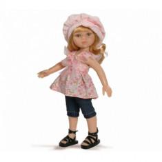 Papusa paola reina Dasha in Bluza Roz si Bermude, 4-6 ani, Plastic, Fata