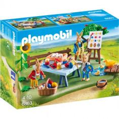 Easter - Atelierul de Lucru al Iepurasilor - Figurina Povesti Playmobil