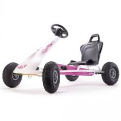 Kart Air Racer Flower - Kart cu pedale ferbedo