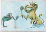 bnk cp Ilustratie de Marcela Codrescu la vol Basme de Victor Eftimiu - unc