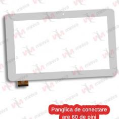 Touchscreen eSTAR GRAND HD QUAD CORE 4G MID1148G Alb 60 pini Geam Sticla