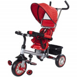 Tricicleta Confort Plus Rosu - Tricicleta copii