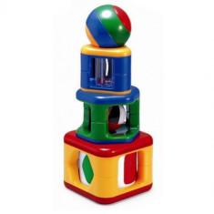 Piramida cu Activitati - Jocuri Stiinte TOLO Toys