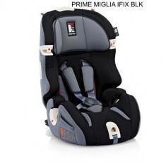 Scaun Auto Prime Miglia I-FIX Black - Scaun auto copii Inglesina, 1-2-3 (9-36 kg), Isofix