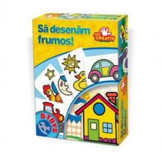 Sa Desenam Frumos - Jocuri arta si creatie D-Toys