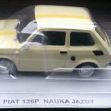 Macheta DeAgostini - Fiat 126P Scoala de Soferi - Masini de Legenda Polonia - Macheta auto, 1:43