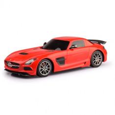Masinuta Rastar Mercedes-Benz SLS AMG cu Telecomanda 1:18 Rosu