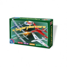 Set 4 Superplanoare Model 2 - Jocuri Logica si inteligenta D-Toys