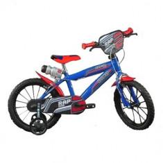 Bicicleta 414U, 14 inch Albastru - Bicicleta copii Dino Bikes