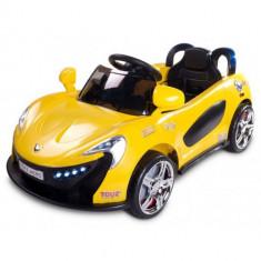 Vehicul Electric Aero cu Telecomanda 12 V Yellow - Masinuta electrica copii