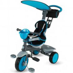 Tricicleta Enjoy Plus Albastra - Tricicleta copii DHS Baby