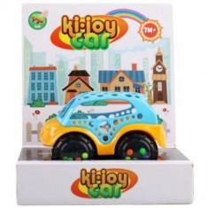 Masinuta Soft Bebe Ki-Joy Cerculete - Roboti de jucarie
