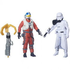 Star Wars - Figurine First Mate Snap Wexley si Snowtrooper - Figurina Povesti Hasbro