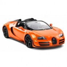 Bugatti Veyron Grand Sport Vitesse Scara 1:14 Portocaliu - Masinuta Rastar