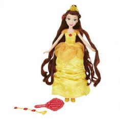 Papusa Disney Belle cu Accesorii pentru Par, 2-4 ani
