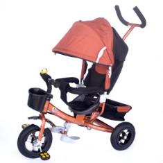 Tricicleta Agilis Air BROWN - Tricicleta copii Skutt