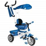 Tricicleta B301B 2016 Blue White - Tricicleta copii