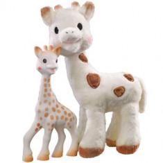 Set Sophie Cherie si Girafa Sophie - Figurina Animale