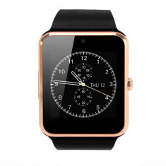 Resigilat! Smartwatch cu Telefon iUni GT08s Plus, Camera 1, 3 Mp, BT, LCD Capacitiv 1.54 inch Antizgarieturi, Gold edition