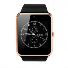 Resigilat! Smartwatch cu Telefon iUni GT08s Plus, Camera 1, 3 Mp, BT, LCD Capacitiv 1.54 inch Antizgarieturi, Gold edition