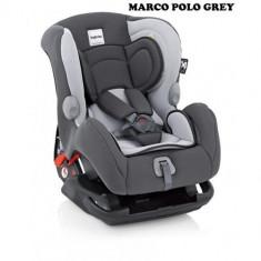 Scaun Auto Marco Polo Grey - Scaun auto copii Inglesina, 0+ -1 (0-18 kg), Isofix