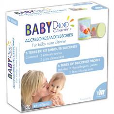 Varfuri din Silicon pentru Aspirator Nazal BabyDoo MX-One - Aspirator nazal copii