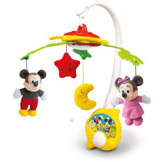 Carusel Muzical Mickey Mouse - Jucarie interactiva Clementoni