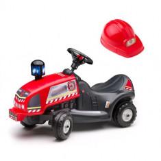 Masinuta Pompieri Ride On cu Casca