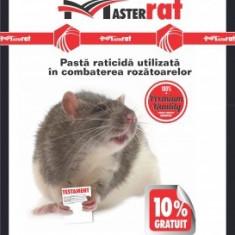 Momeala raticida anti soareci, sobolani pasta MasterRat (100gr) rosie
