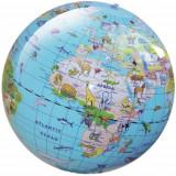 Glob Gonflabil cu Animale 30 cm - Jocuri Logica si inteligenta