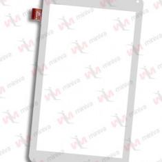 Touchscreen Geam Sticla Vonino Xara QS 7 3G Alb