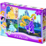 Puzzle 3 in 1 - Princess