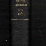 Buletinul Ministerului Agriculturii Si Domeniilor, nr.5-12, anul 1931